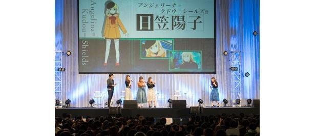 AI深雪の中村悠一への印象とは?「劇場版 魔法科高校の劣等生」ステージ【AnimeJapan 2017】