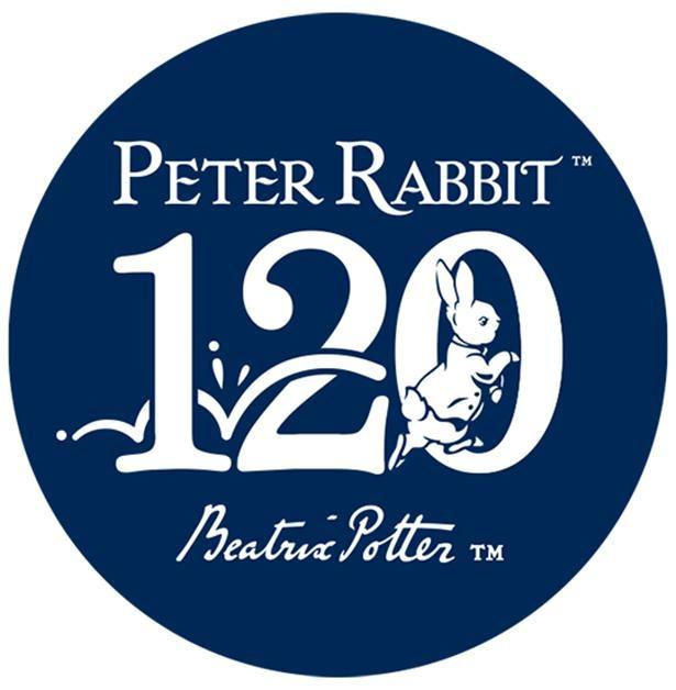 【写真】こちらは絵本の出版120周年を記念するロゴ