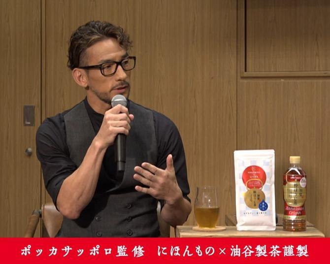 """中田英寿、""""究極""""のお茶を共同開発「いつ飲んでもおいしいものを目指した」"""