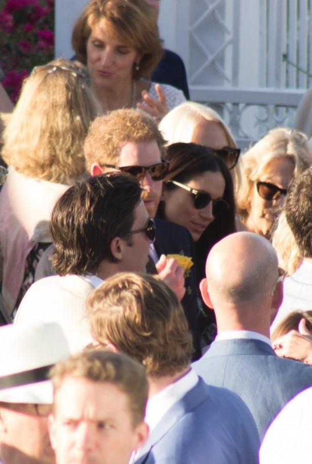 【写真を見る】世間の注目を集めるヘンリー王子とメーガン・マークル