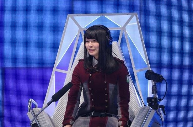 3月30日(木)放送の「ザ・タイムショックー」(テレビ朝日系)に欅坂46・長濱ねるが初出場
