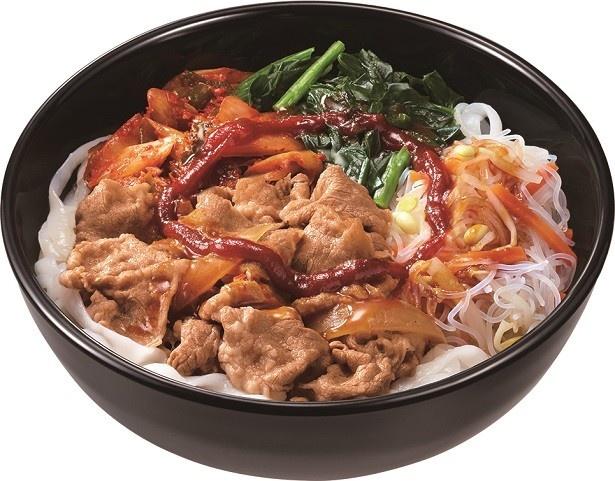 【写真を見る】「ロカボ牛ビビン麺」(590円)