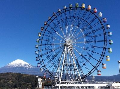 2月にオープンしたばかりの大観覧車「Fuji Sky View」