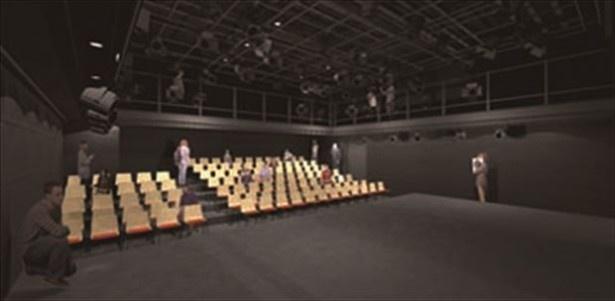 新劇場「浅草九劇」の座席数は約100席