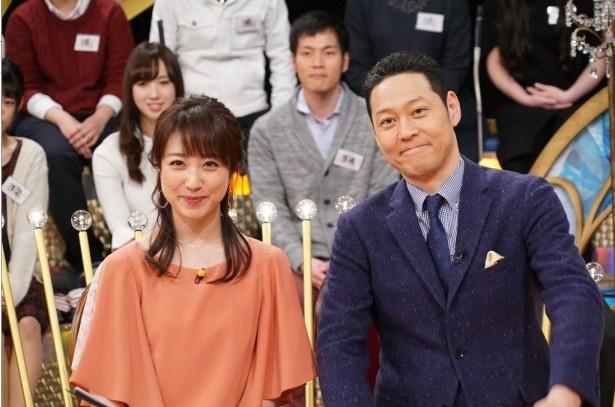 「1周回って知らない話」でMC・東野幸治のアシスタントを務める川田裕美