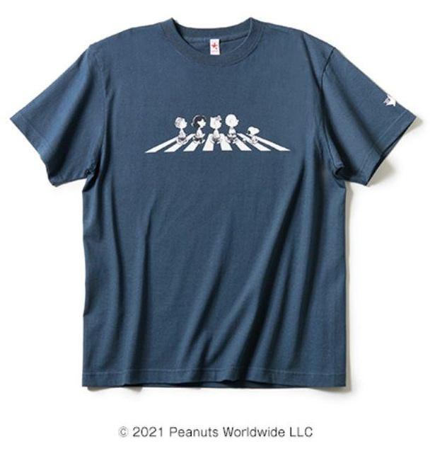 トレンドのくすみカラー、SLATEを取り入れたTシャツ「THE PEANUTS(TM)」