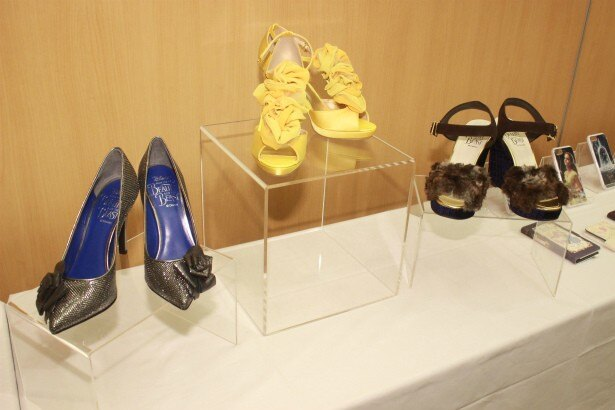 ロマンティックな靴たち