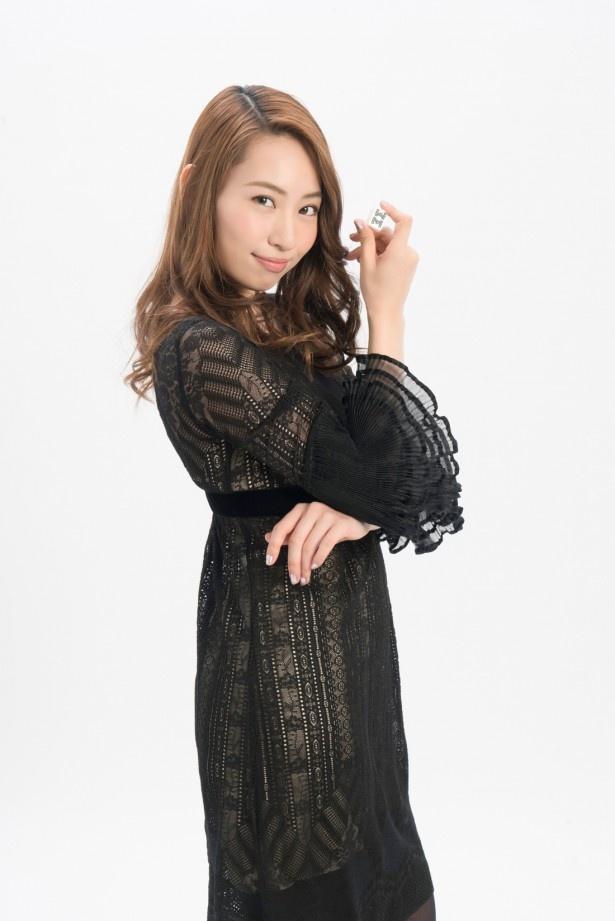 「十代の自分とそっくり」と語る増田有華