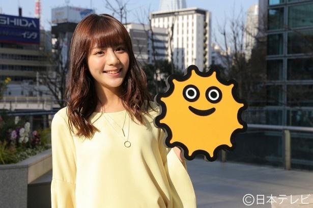 貴島明日香が「ZIP!」の7代目お天気キャスターに就任.
