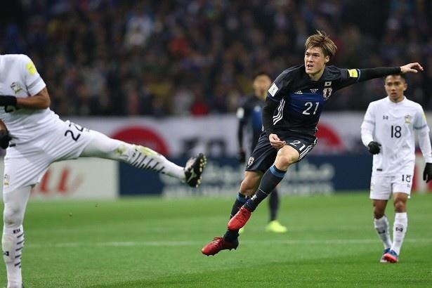 サッカー日本代表、世界への道!W杯アジア地区最終予選 「日本代表×タイ代表」14/21
