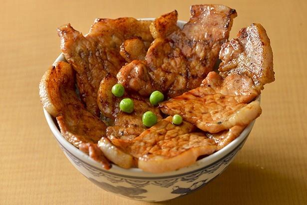元祖豚丼のぱんちょう/豚丼(梅)1,100円