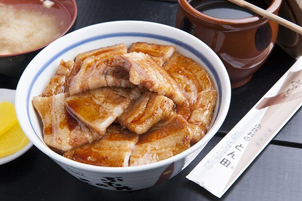 ぶた丼のとん田/バラぶた丼780円