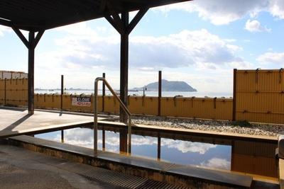 天然温泉 七重浜の湯/晴れた日には海と函館山を一望しながら入浴できる絶景露天風呂