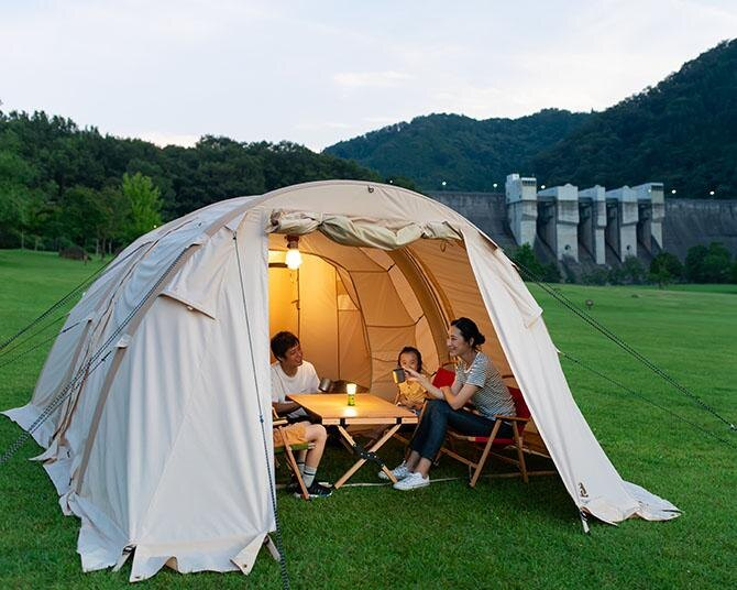 関西エリアから行く!天然温泉で癒やされるキャンプ場5選