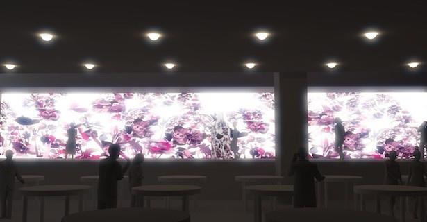 革新的な技術で魅せる!スパイラル(表参道)でプロジェクションマッピングを用いた都会の桜が登場!
