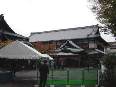 会場となった祇園新地・甲部歌舞練場内 八坂倶楽部
