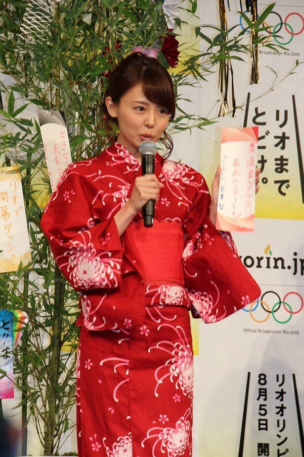 民放で最初に競技中継をするフジテレビの宮澤智アナ(フジテレビ)は「柔道金メダルラッシュで最高のスタートを!」