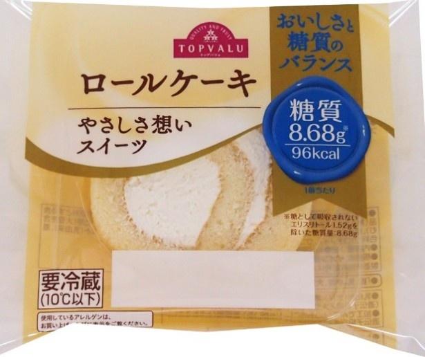 「トップバリュ ロールケーキ」(105円)