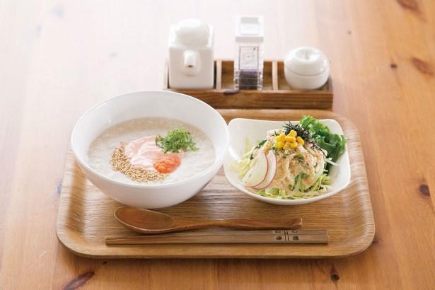 朝粥セット(500円)