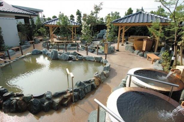 関越自動車道 高崎ICすぐの場所にある高崎 京ヶ島天然温泉 湯都里