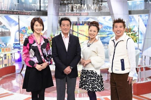 【写真を見る】4月から「朝だ!生です旅サラダ」(テレビ朝日系)は25年目に突入!