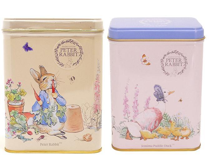ピーターラビットと楽しむティータイム!スクエア缶もかわいい紅茶2種を紹介