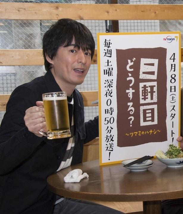 「二軒目どうする?~ツマミのハナシ~」で松岡昌宏と共にMCを務める博多大吉