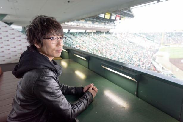 【写真を見る】初の高校野球を見学した高橋は「生で試合を観て球場の空気を感じると、いろんな発見はあるんですね」とコメント