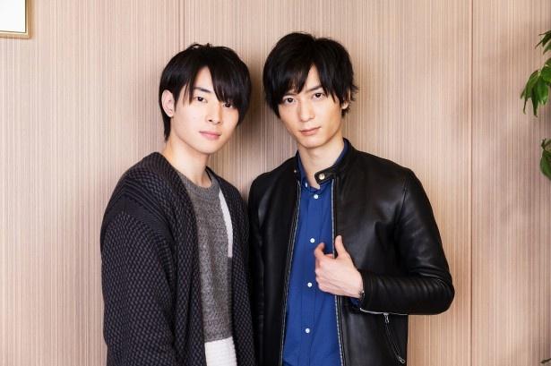 4月6日(木)から放送が始まるアニメ「カブキブ!」(TBS系)の声優を務める市川太一と梅原裕一郎