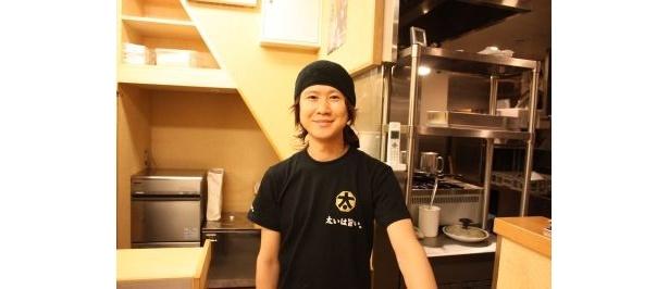「太麺堂」の店長