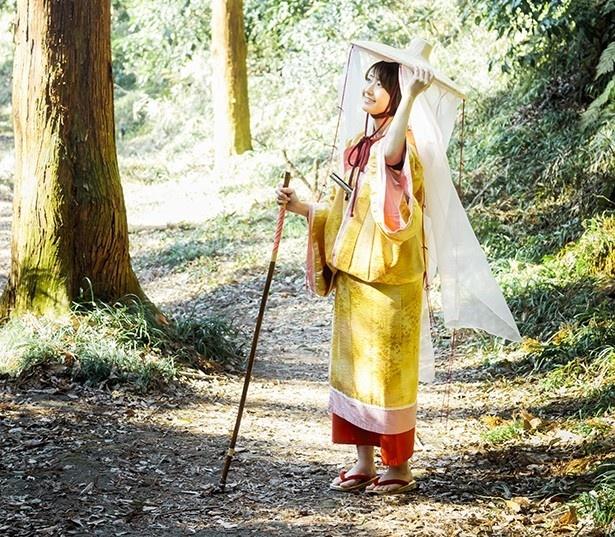 長谷の「梓想庵」で好みの装束に着替えたら、鎌倉散策に出発!