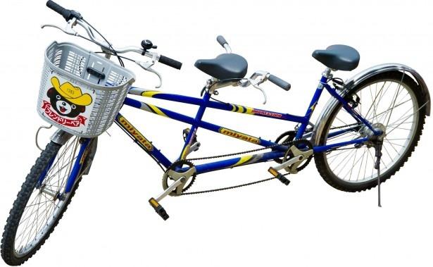 フレンドリーベアの2人乗り自転車