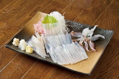 函館海鮮料理 海光房/活イカ刺し