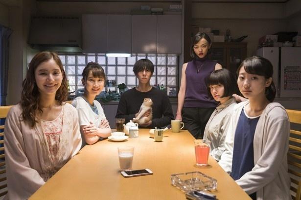 【写真を見る】ドラマは野田演じる主人公と5人の美女たちによる密室ミステリー