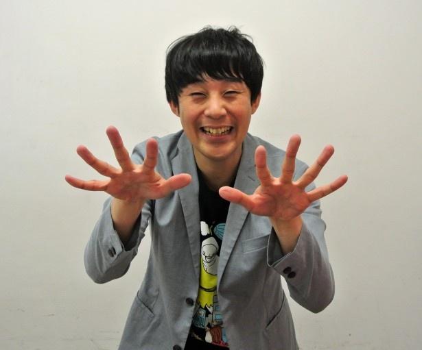 """さくま・かずゆき=1977年9月3日生まれ、茨城県出身。""""さっくん""""の愛称で親しまれているピン芸人。「R-1ぐらんぷり2011」優勝者"""