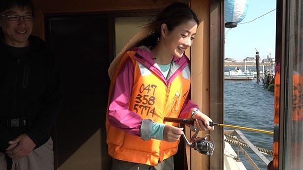 東京湾でハゼ釣りも体験
