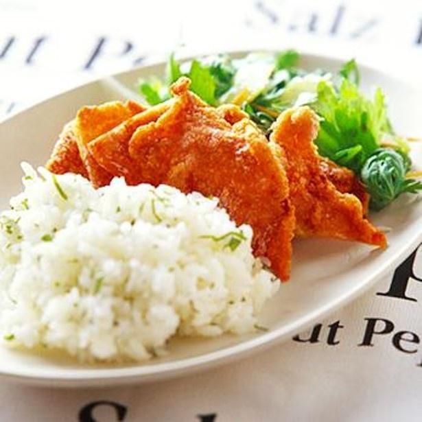 「たっぷり野菜とカリカリ豚のプレート」 レタスクラブニュースより