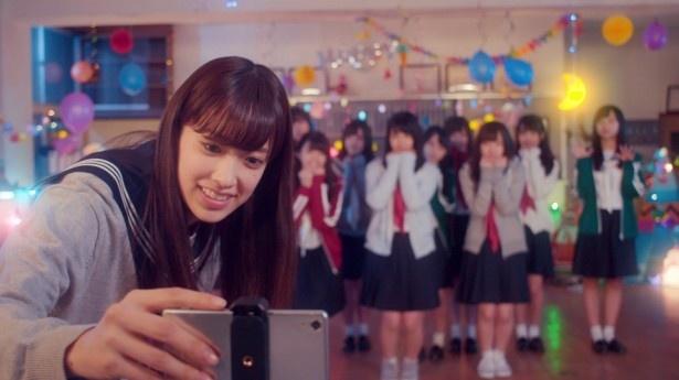 """けやき坂46の""""アイドルらしいかわいさ""""が描かれている"""