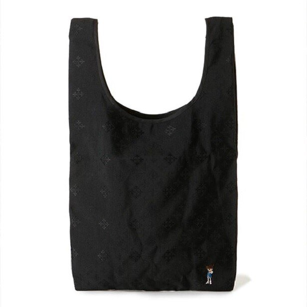 こだわりのオリジナル生地にコナンの刺繍が大人っぽくワンポイント施された「エコバッグ」(3024円)