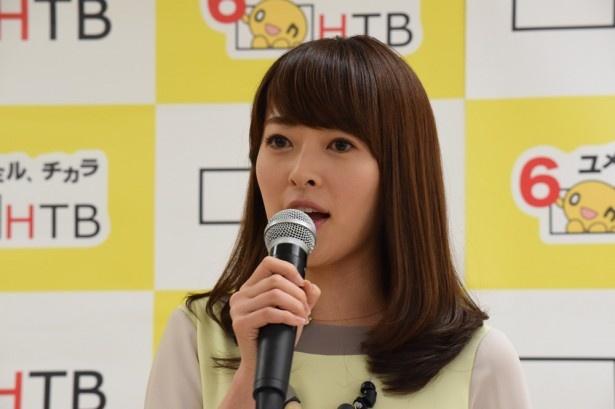 「ワイワイした雰囲気が何より強み」と語る「イチオシ!モーニング」石沢綾子アナウンサー