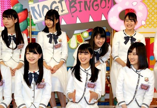 「NOGIBINNGO!」シリーズに初出演となる3期生メンバー
