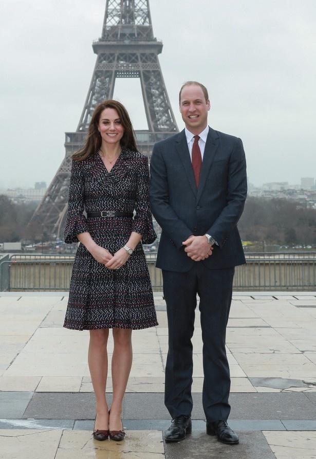 今月中旬、フランスでの公務を果たしたウィリアム王子とキャサリン妃