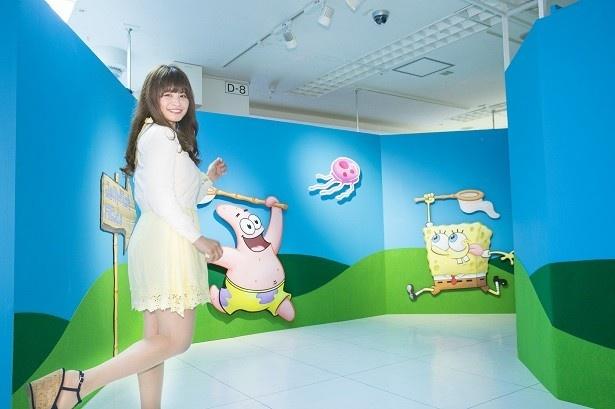 東武百貨店 池袋店8階催事場で「WE LOVE SpongeBob ~スポンジ・ボブ & フレンズ~」を開催中!