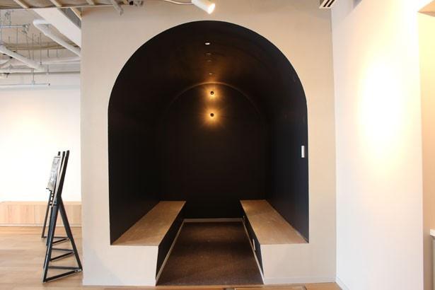個室感覚で利用できる、打ち合わせスペースも