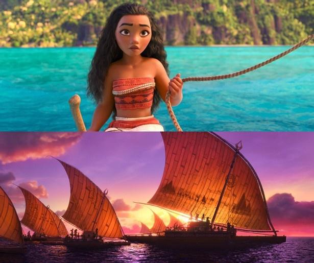 現在大ヒットしている『モアナと伝説の海』は楽曲への評価が高い