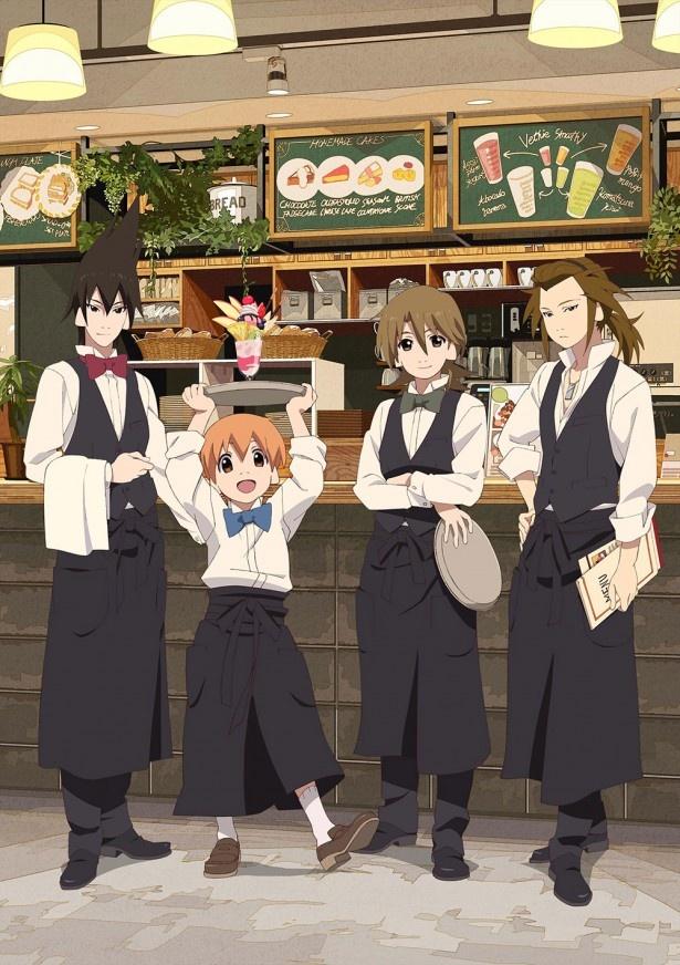 【写真を見る】東京駅前のKITTEで開催される「有頂天家族カフェ」