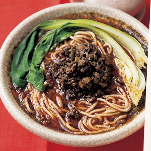 「黒ごま担々麺」 レタスクラブニュースより