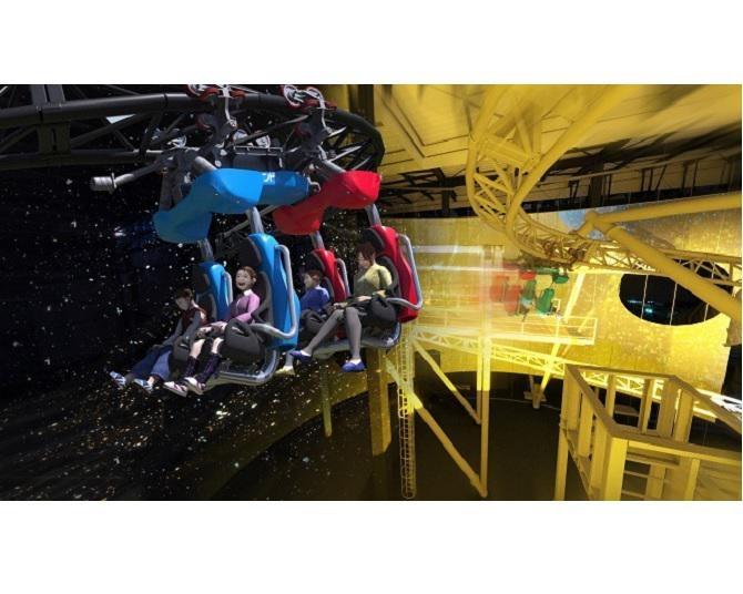 よみうりランドに宇宙を舞台に遊んで学べる「SPACE factory」が11月12日にオープン!