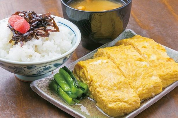 玉子焼 おざわの玉子焼御膳(1300円)