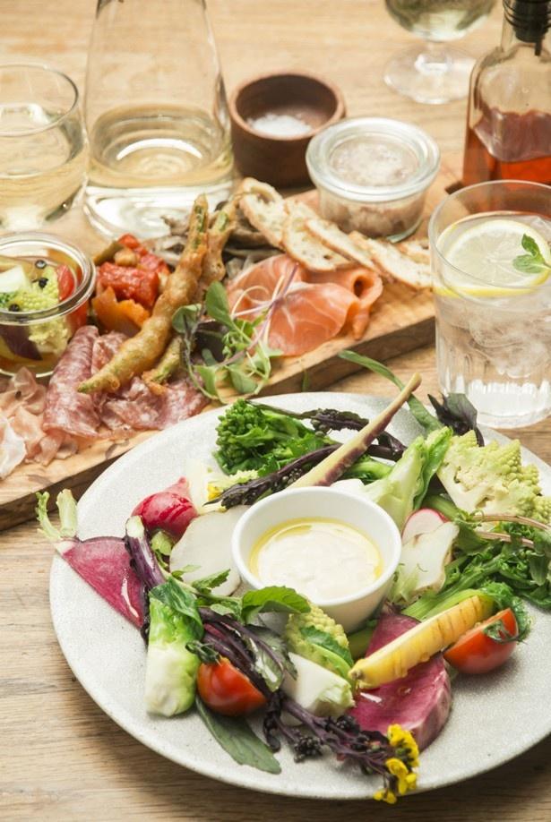 地元産の野菜をふんだんに取り入れたイタリアンなど、幅広いメニューラインアップも魅力